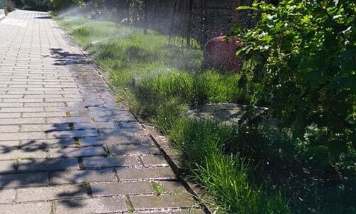 Система автоматического полива газонов